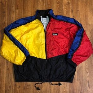 VTG Catalina ColorBlock Windbreaker, Size: X-Large